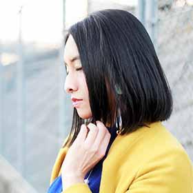 大河内愛美さん(女性/26歳/神経線維腫症I型(レックリングハウゼン病)患者さん)
